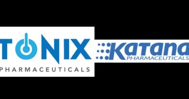 Tonix Pharmaceuticals Holding Corp. strikes deal with Katana Pharmaceuticals